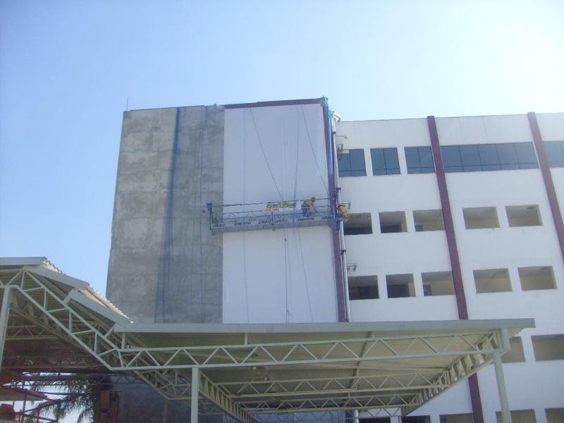 Troca revestimento fachada